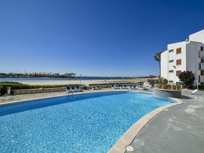 Photo for Spacious apartment primarily with a fantastic view of the marina