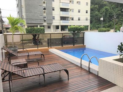 Photo for Flat Cabo Branco, wifi and cable tv, best neighborhood of João Pessoa! PROMO MAY