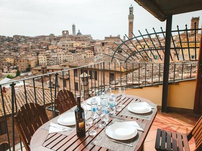 Photo for Central panoramic apartment San Martino!