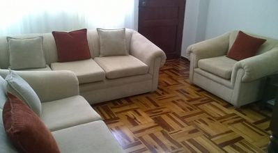 Photo for Trujillo- Peru Affordable 5 stars rental 3 beds 1 bath wifi,cable tv and washer