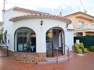 Photo for Wonderful and classic holiday house in Oliva, on the Costa Blanca, Spain for 6 persons