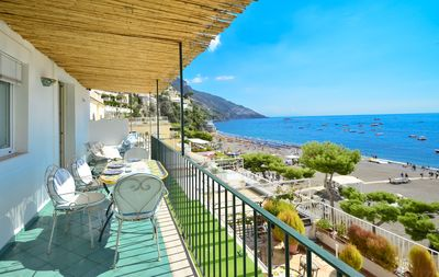 Photo for Charming house CASA RAFFI with sea view Positano's Spiaggia Grande beach
