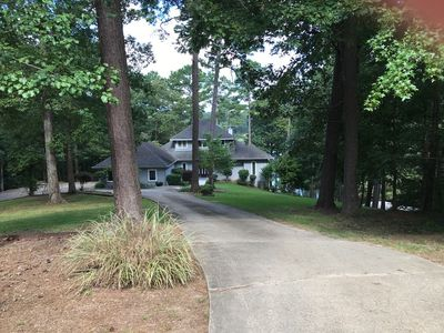 Photo for Gorgeous Lakefront Estate overlooking Lake Catherine