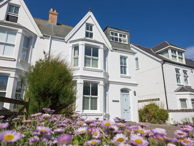 Photo for Luxury Family House overlooking the sea, 1 minute walk to both beaches