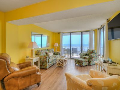Photo for Oceanfront with TWO master suites!