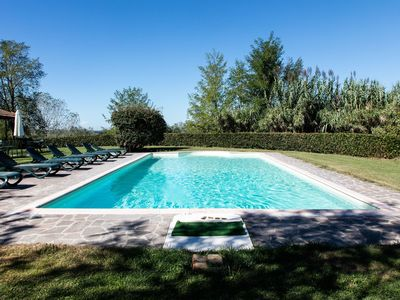 Photo for Workers' land on estate with pool near Pisa and Florence.