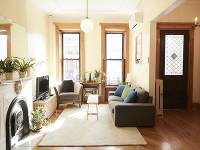 Photo for Elegant 3BR with Backyard (15 Minutes to Manhattan!)