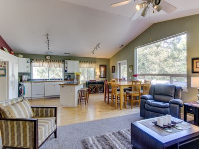 Photo for Family-friendly home near skiing and snowboarding, dogs ok!