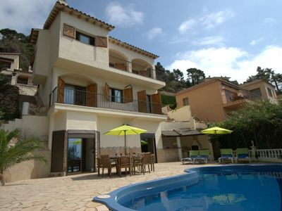 Photo for Club Villamar - This 8-person Spanish villa is perfect for families by default. With a beautiful ...