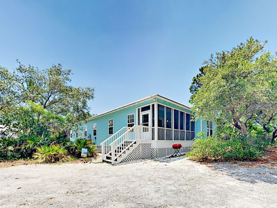 Photo for 3BR Cottage Between the Bay & Beach - Enjoy a Pool, Hot Tub & Tennis!