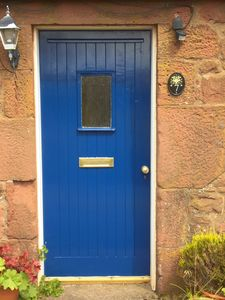 Photo for Traditional red sandstone cottage in a stunning rural location.