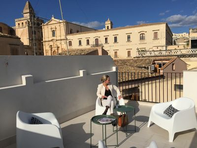 Photo for SUITE / APARTMENT MELANIA | ROOF-TOP TERRACE | IN THE HEART OF HISTORIC NOTO