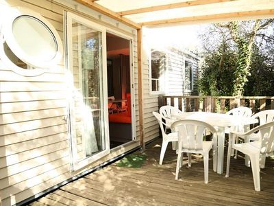 Photo for Campsite Fondespierre *** - Mobile home 4 rooms 6 persons