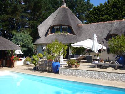 Photo for BEAUTIFUL COTTAGE WITH SWIMMING POOL