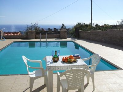 Photo for Traditional Madeira Cottage, Sea And Mountain Views Plus Pool