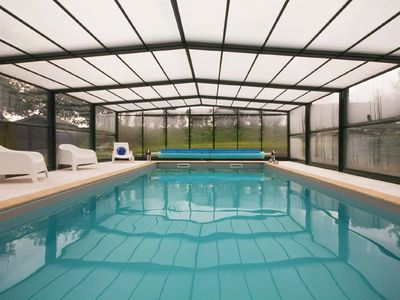 Photo for CHARMING RESIDENCE 3 *** NEAR PRIVATE SWIMMING POOL COVERED HEATED AT 28 ° C