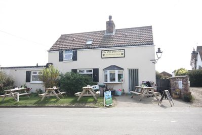 The Old Post Office Tearooms, Apple tree located behind in private area
