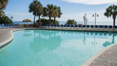 Photo for Oceanfront Suite with Private Balcony | Gym, Pools, + Hot Tubs!