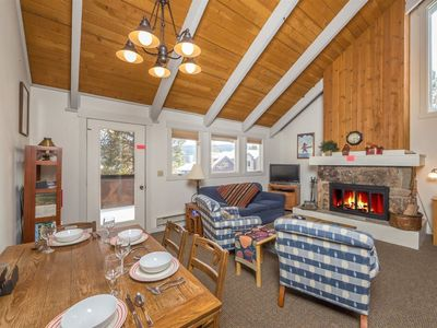 Photo for Cozy Curley Bear Condo with Community Pool/Hot Tub, and Winter Shuttle!