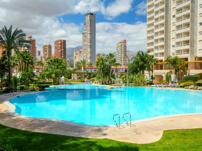 Photo for Apartment Gemelos 22 Playa in Benidorm - 4 persons, 1 bedrooms