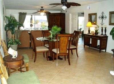 Kingsview Condo Living & Dining Area