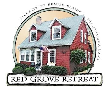 Photo for The Red Grove Retreat- Village of Bemus Point