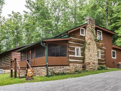 Photo for Tween Waters Trails Log Cabin