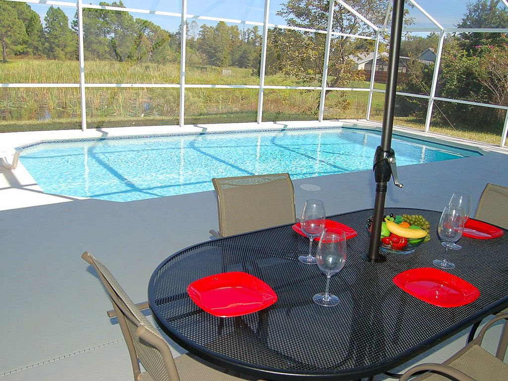 Private 3 Bedroom Villa close to Disney with pool