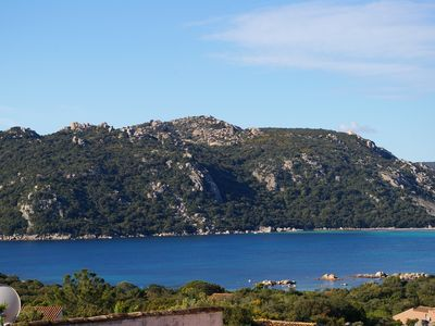 Photo for Charming villa with stunning sea views over the bay of Santa Giulia