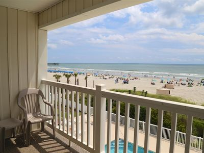 Photo for Beautiful&Bright Ocean Front-2B/2B Shore Drive, Myrtle Beach #A307