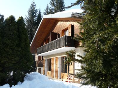 Photo for Chalet 10 persons 160 m² at the foot of ski slopes.