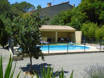 Photo for 170sqm air-conditioned villa with swimming pool on 1800sqm -8 pers-