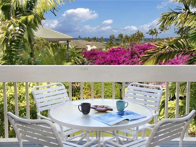 "Photo for Poipu Private Lanai best Sunset Ocean View ""A/C Master & Living Room"" *Manualoha 702*"