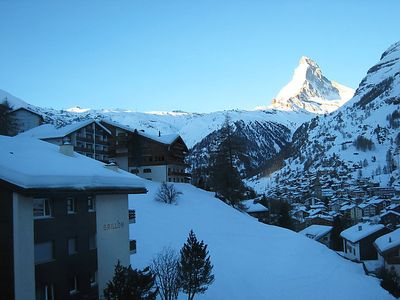 Photo for Apartment Cresta in Zermatt - 3 persons, 2 bedrooms