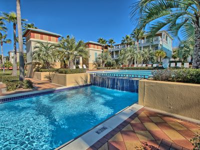 Photo for Amazing Location On the Pool deck, 1 block off beach, Just renovated in 1/20