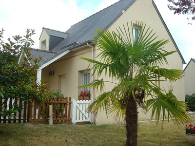 Photo for House on the heights of Dinard at 900 m from the beach in a quiet subdivision.