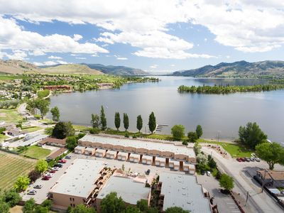 Photo for LAKEFRONT- 3 bdrm Townhome #108 , Amazing Osoyoos Call Cindie   604-803-0017
