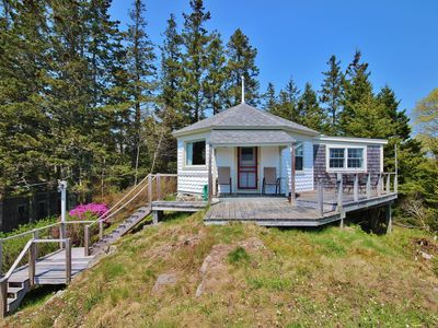 Photo for Perfect for  cottage with harbor views and waterfront access