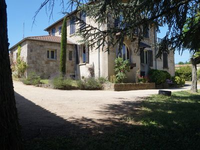 Photo for Large family house of character in Ardèche Verte, 6/7 bedrooms