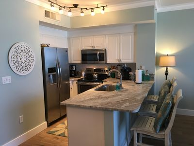 All NEW Kitchen Furnishings including Stainless Appliance, Granite Counter Tops