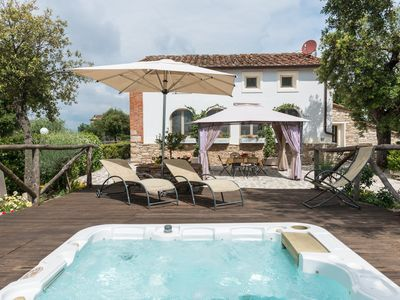 Photo for Luxury Holiday Villa In Tuscany, Monsummano Alto (Pistoia) Italy