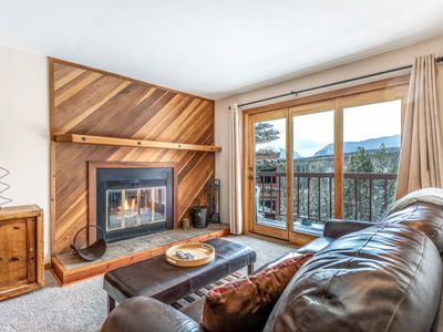 Photo for NEW LISTING!  Mountain/Forest Views Log Burning Fireplace/Pool/Hot Tub/Sauna Central To All Skiing