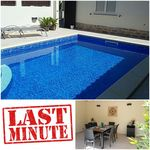 Very comfortable house. Pool excellent for our small children. Rooms cool and relaxing.