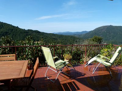 Photo for House in Olivese, South Corsica. 8 pers. Taravo valley panorama view terrace