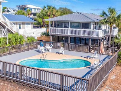Photo for Grayton Getaway - Heated Private Pool, Pet Friendly, Steps to the Beach!