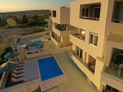 Photo for Comfort One-Bedroom Apartment with Terrace and Sea View
