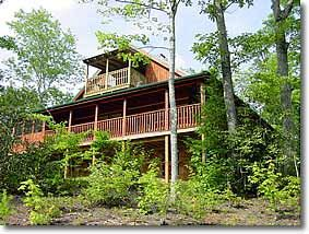 Photo for Log Cabin only 4 miles to Downtown.  Includes Jacuzzi, Hot Tub, Grill and a Fireplace