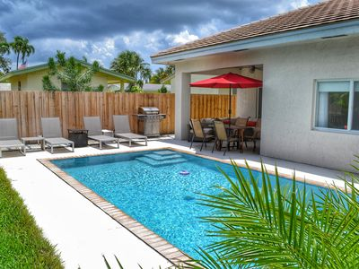 Photo for New Construction 3 Bed 2 Bath with heated Pool in the heart of Oakland Park