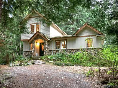 Photo for Cabin #34 Great English Tudor-style home with private hot tub!