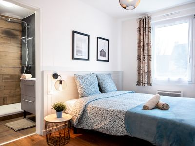 Photo for Chic & Cozy Apartment with Terrace + Private Parking
